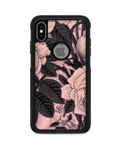 Rose Quartz Floral Otterbox Commuter iPhone Skin
