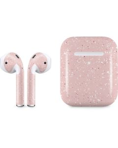 Rose Speckle Apple AirPods 2 Skin