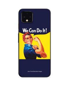 Rosie The Riveter Vintage War Poster Google Pixel 4 Skin