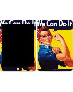 Rosie The Riveter Vintage War Poster Apple iPad Skin