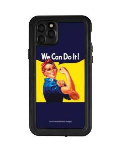Rosie The Riveter Vintage War Poster iPhone 11 Pro Max Waterproof Case
