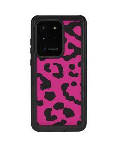 Rosy Leopard Galaxy S20 Ultra 5G Waterproof Case