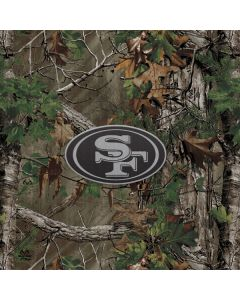 San Francisco 49ers Realtree Xtra Green Camo One X Skin