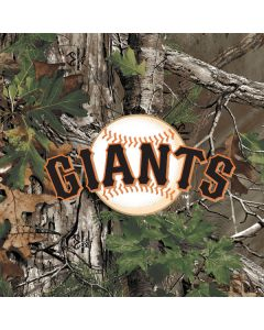 San Francisco Giants Realtree Xtra Green Camo Google Home Hub Skin