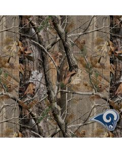 Los Angeles Rams Realtree AP Camo Galaxy S8 Plus Lite Case