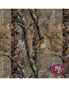 San Francisco 49ers Realtree AP Camo One X Skin