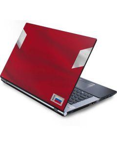 Russia Soccer Flag Generic Laptop Skin
