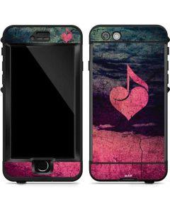 Rustic Musical Heart LifeProof Nuud iPhone Skin
