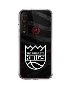 Sacramento Kings Animal Print Moto G8 Plus Clear Case