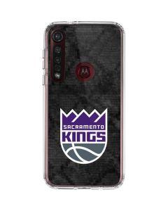 Sacramento Kings Blast Rust Moto G8 Plus Clear Case