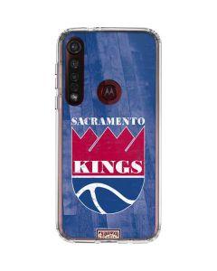 Sacramento Kings Hardwood Classics Moto G8 Plus Clear Case