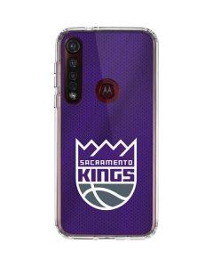 Sacramento Kings Jersey Moto G8 Plus Clear Case
