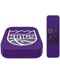 Sacramento Kings Large Logo Apple TV Skin