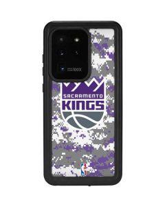 Sacramento Kings Purple Digi Camo Galaxy S20 Ultra 5G Waterproof Case