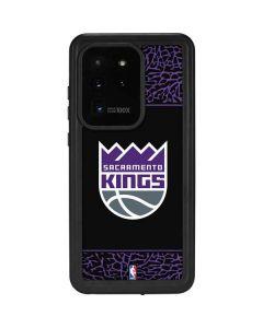 Sacramento Kings Purple Elephant Print Galaxy S20 Ultra 5G Waterproof Case