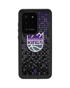 Sacramento Kings Purple Pixels Galaxy S20 Ultra 5G Waterproof Case