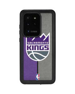 Sacramento Kings Split Canvas Galaxy S20 Ultra 5G Waterproof Case