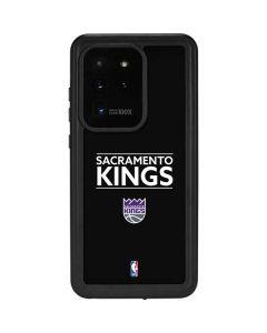 Sacramento Kings Standard - Black Galaxy S20 Ultra 5G Waterproof Case
