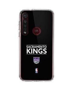 Sacramento Kings Standard - Black Moto G8 Plus Clear Case
