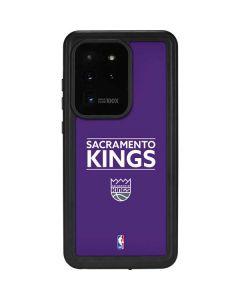 Sacramento Kings Standard - Purple Galaxy S20 Ultra 5G Waterproof Case