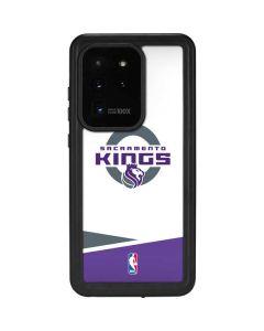 Sacramento Kings White Split Galaxy S20 Ultra 5G Waterproof Case