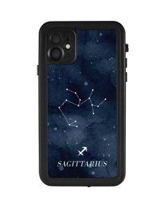 Sagittarius Constellation iPhone 11 Waterproof Case