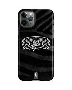 San Antonio Spurs Black Animal Print iPhone 11 Pro Lite Case
