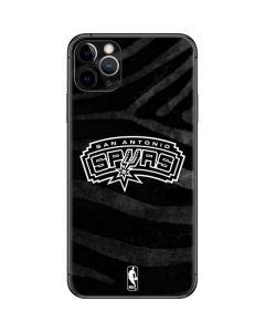 San Antonio Spurs Black Animal Print iPhone 11 Pro Max Skin