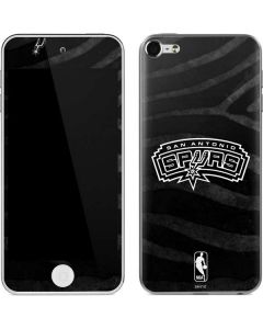 San Antonio Spurs Black Animal Print Apple iPod Skin