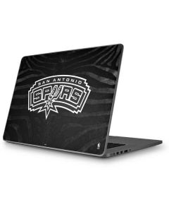 San Antonio Spurs Black Animal Print Apple MacBook Pro 17-inch Skin