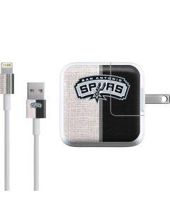 San Antonio Spurs Canvas iPad Charger (10W USB) Skin