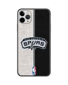 San Antonio Spurs Canvas iPhone 11 Pro Max Skin