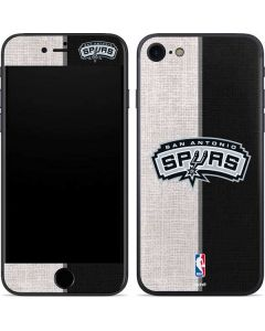 San Antonio Spurs Canvas iPhone SE Skin