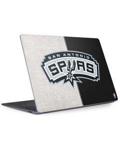 San Antonio Spurs Canvas Surface Laptop 3 13.5in Skin