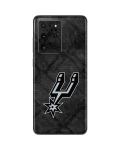San Antonio Spurs Dark Rust Galaxy S20 Ultra 5G Skin