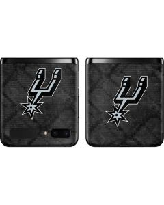 San Antonio Spurs Dark Rust Galaxy Z Flip Skin