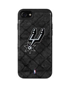 San Antonio Spurs Dark Rust iPhone SE Wallet Case