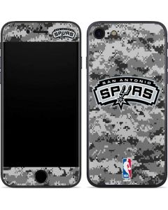 San Antonio Spurs Digi Camo iPhone SE Skin