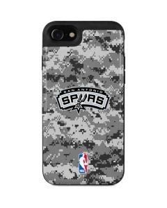 San Antonio Spurs Digi Camo iPhone SE Wallet Case
