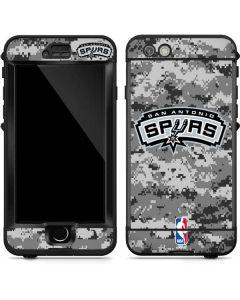 San Antonio Spurs Digi Camo LifeProof Nuud iPhone Skin