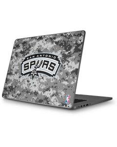 San Antonio Spurs Digi Camo Apple MacBook Pro 17-inch Skin