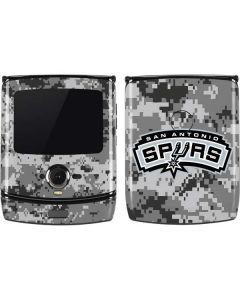 San Antonio Spurs Digi Camo Motorola RAZR Skin