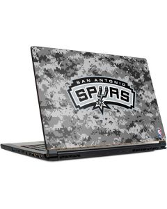 San Antonio Spurs Digi Camo MSI GS65 Stealth Laptop Skin