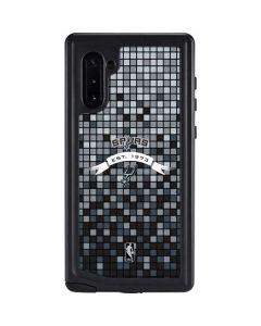 San Antonio Spurs Digi Galaxy Note 10 Waterproof Case