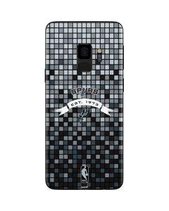San Antonio Spurs Digi Galaxy S9 Skin