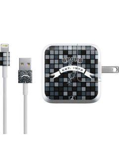 San Antonio Spurs Digi iPad Charger (10W USB) Skin