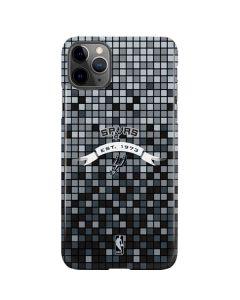 San Antonio Spurs Digi iPhone 11 Pro Max Lite Case