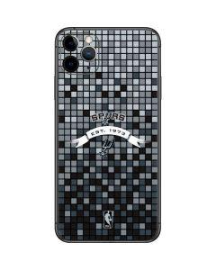 San Antonio Spurs Digi iPhone 11 Pro Max Skin