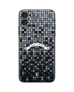 San Antonio Spurs Digi iPhone 11 Skin
