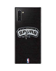 San Antonio Spurs Distressed Galaxy Note 10 Skin